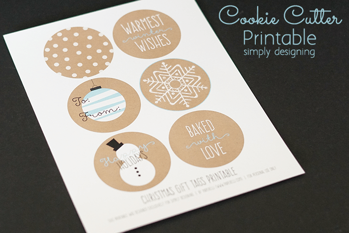 Cookie Cutter Printable