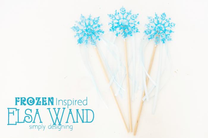 FROZEN Inspired Elsa Wand