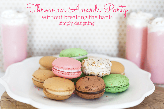 Tips to Throw an Awards Party