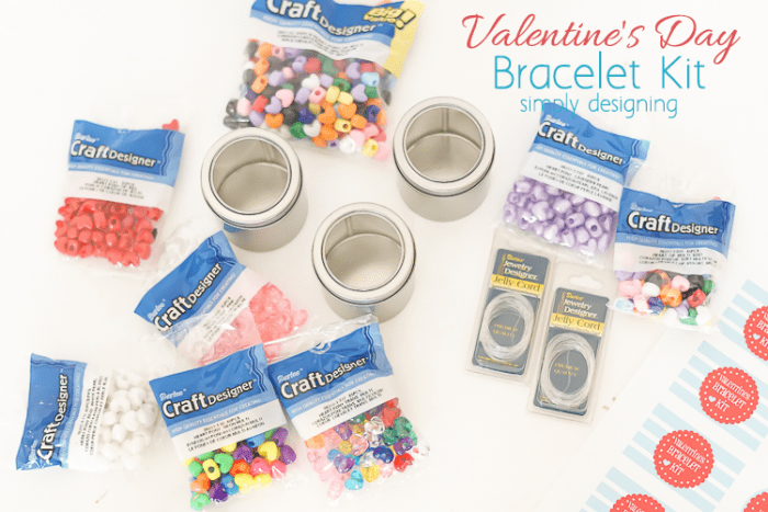 Valentines Bracelet Kit Supplies