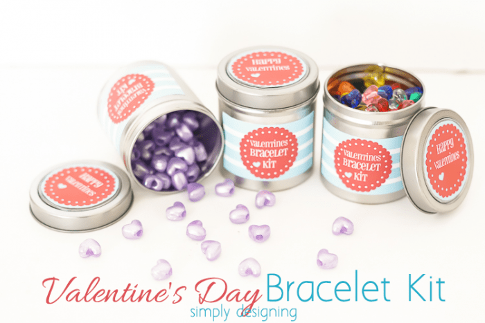 Valentines Day Bracelet Kit