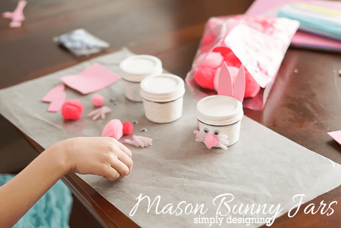 Assemble Mason Bunny Jars