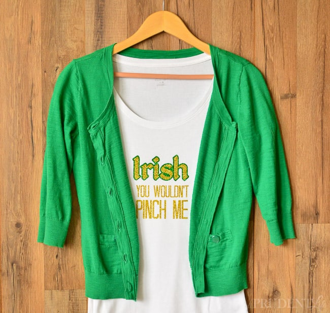 DIY St. Patrick's Day Shirt