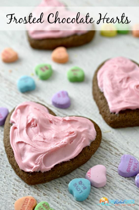 Frosted-Chocolate-Heart-Cookies-a-fun-Valentines-Day-Cookies-recipe-to-make-with-the-kids