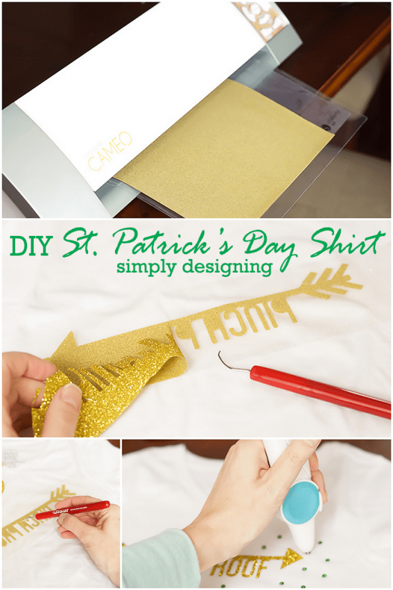How to Make a St Patricks Day Shirt