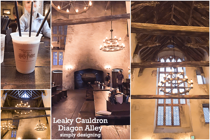 Leaky Cauldron Diagon Alley