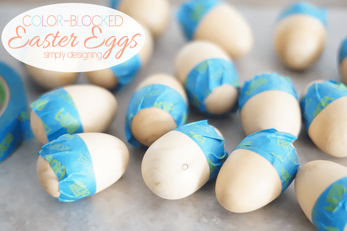 Mask Eggs to Paint