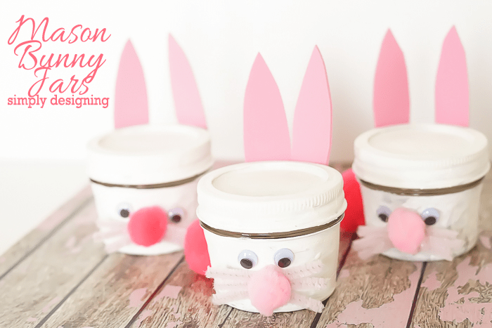 Mason Jar Bunny Craft