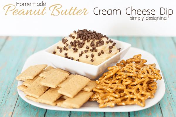 Homemade Peanut Butter Dip