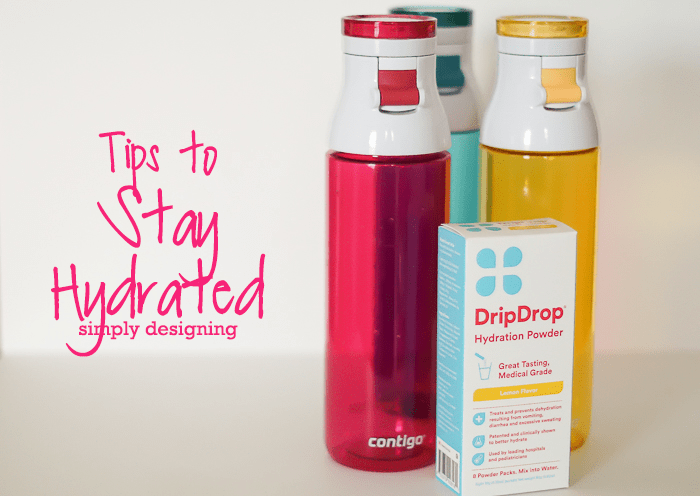 Tips to Stay Hydrated this year