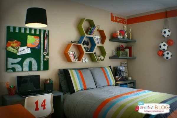 Cool Teen Boy Room
