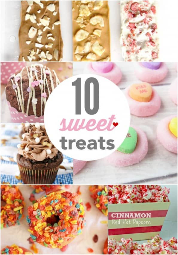 Sweet Treats - these are beautiful and scrumptious!  Check out now and pin for later!
