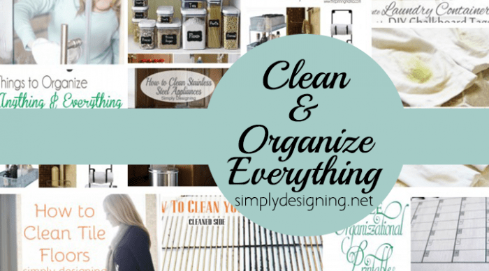 Clean and Organize Everything