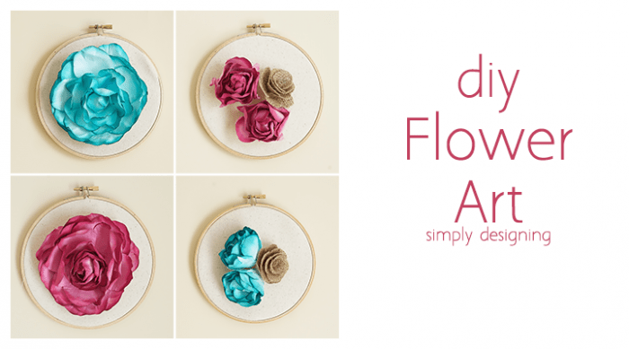 DIY Flower Wall Art