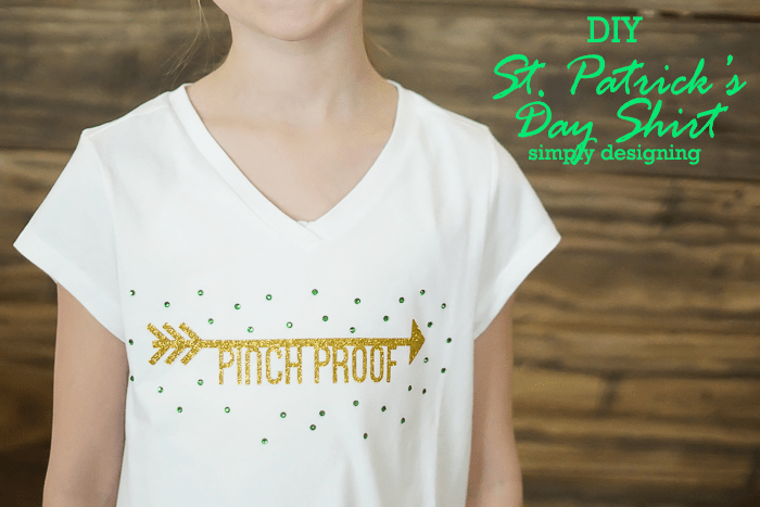 DIY-St-Patricks-Day-Shirt-with-Glitter-Vinyl-and-Rhinestones