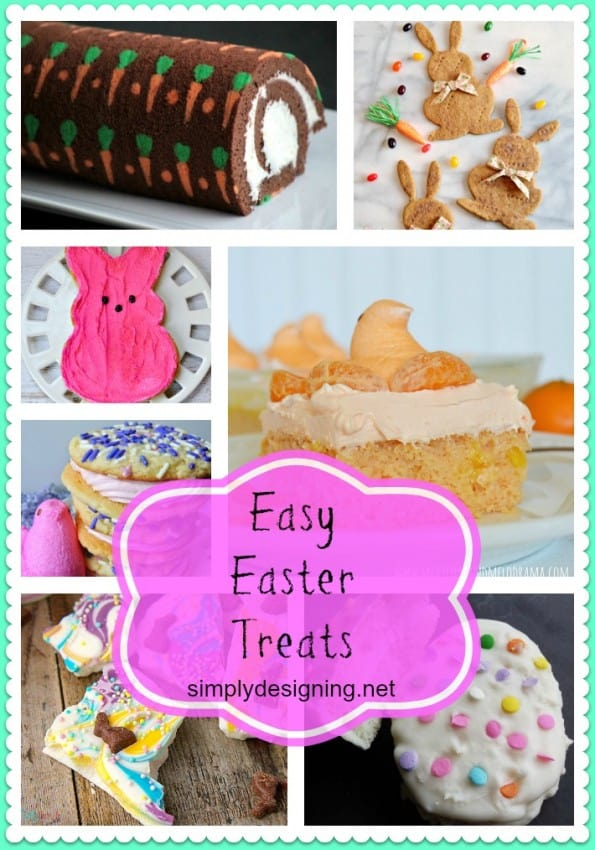 Easy Easter Treats Collage