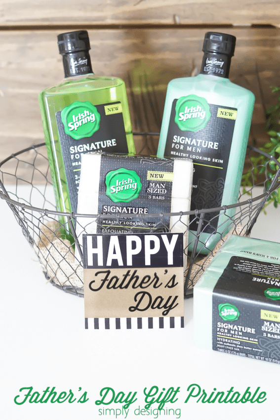 Fathers Day Gift Printable