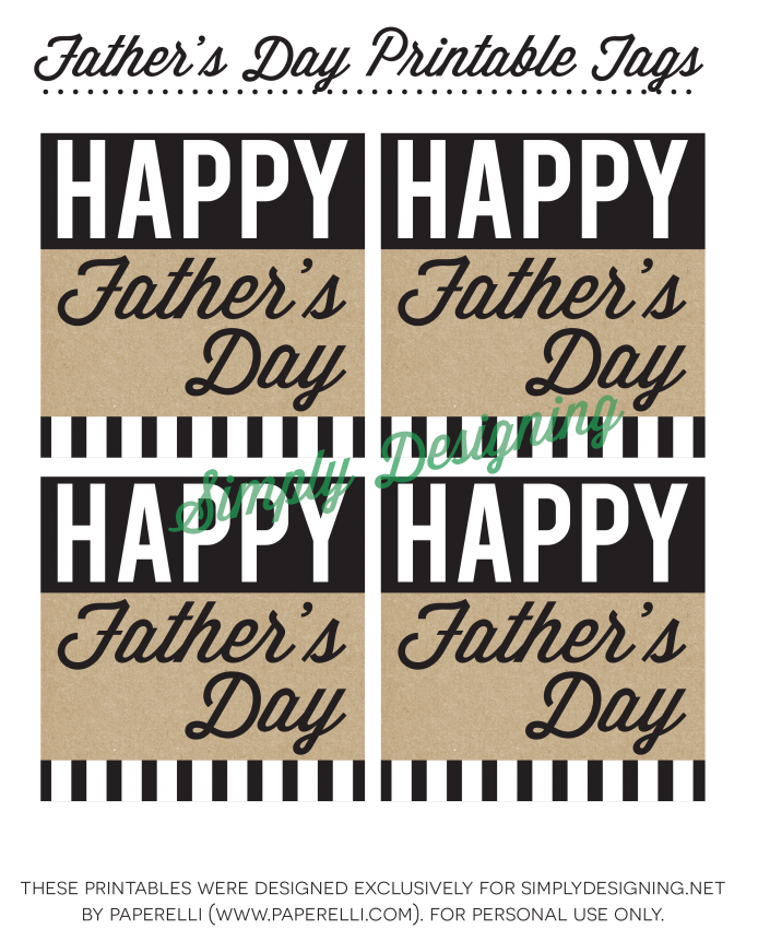 Happy Father's Day Tags