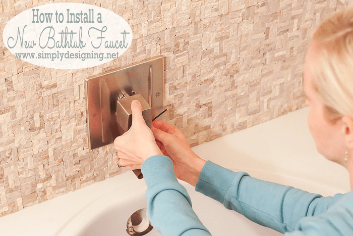 How to Install a Bathtub Faucet