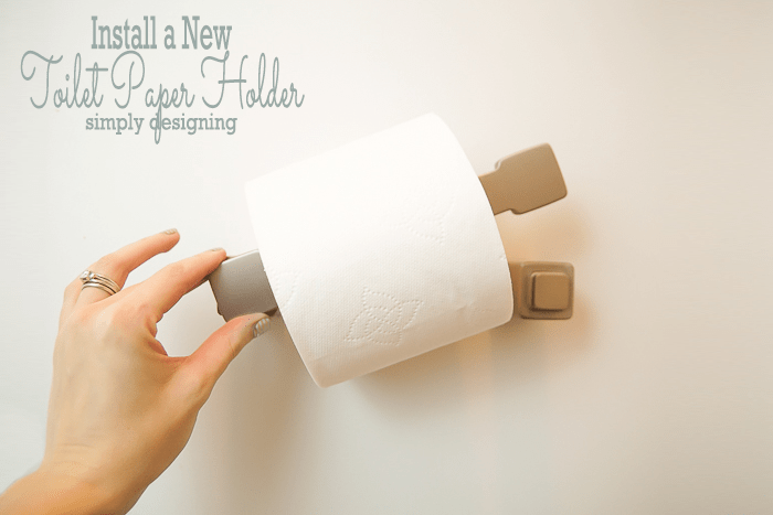 How to Install a New Toilet Paper Holder