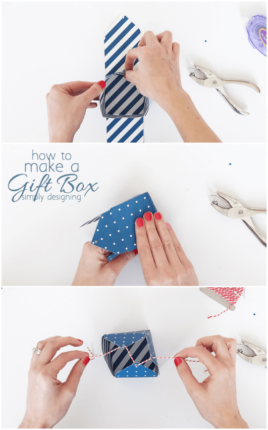 How to Make a Gift Box 3