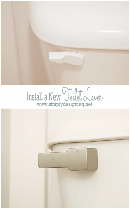 Install a New Toilet Lever