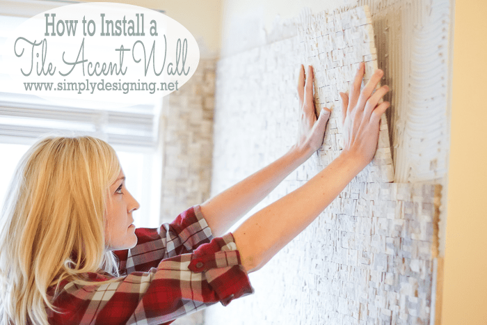 Install A Tile Accent Wall In Day