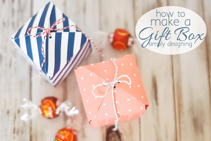Make a Gift Box