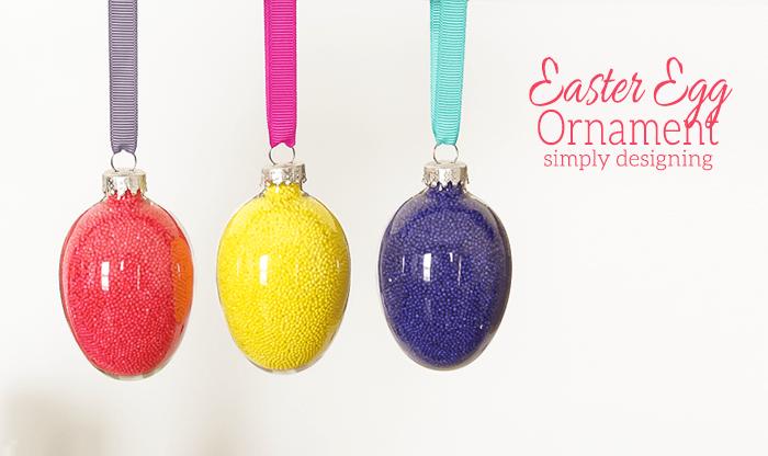 Sprinkle Easter Egg Ornament