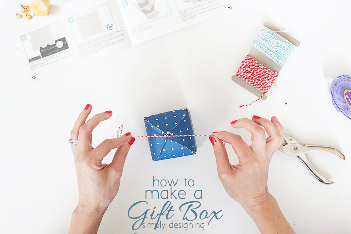 Tie Gift Box Together