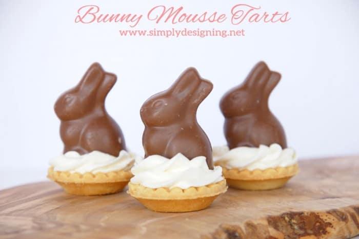 bunny mousse tarts
