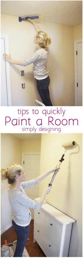 Quickly paint a room in your home here 39 s how to paint a - What do you need to paint a room ...