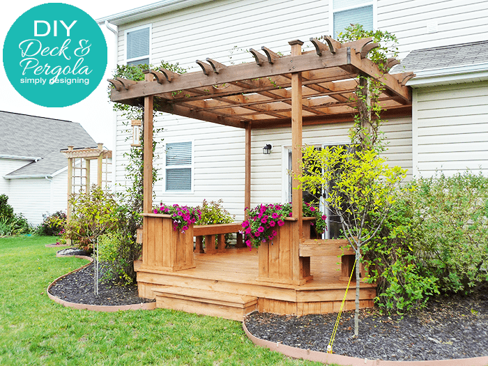 DIY Deck and Pergola