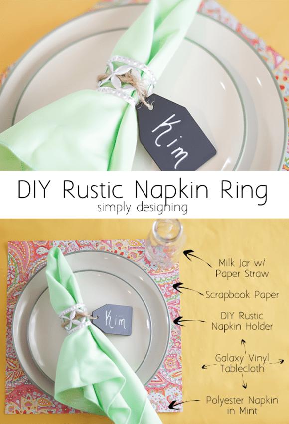 Rustic Napkin Ring