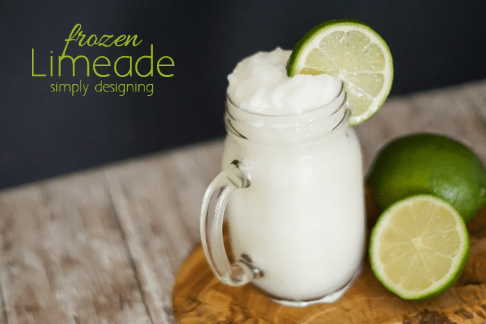 Frozen Limeade Recipe