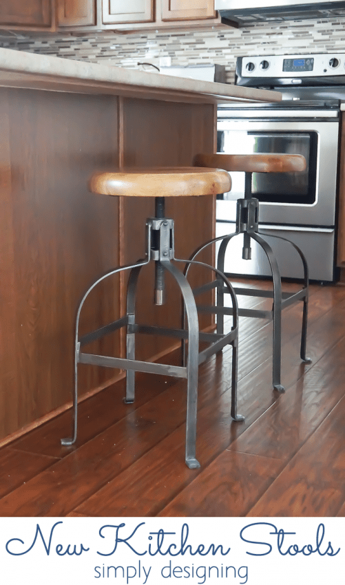 New Kitchen Stools