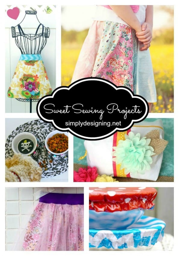 Sweet Sewing Projects - perfect projects for beginner to more advanced sewers