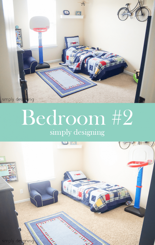 New Carpet - before & after - Bedroom #2