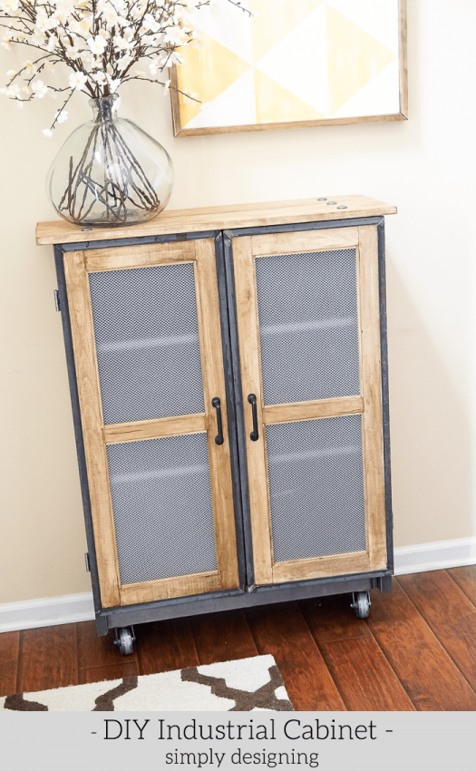 how to build industrial furniture