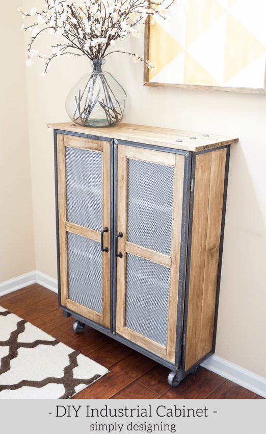DIY Industrial Cabinet