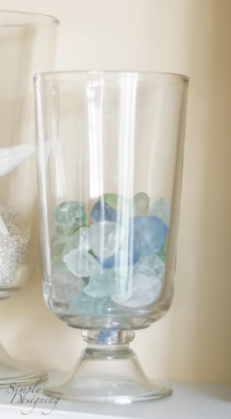 Decorate your Beach House - sea glass