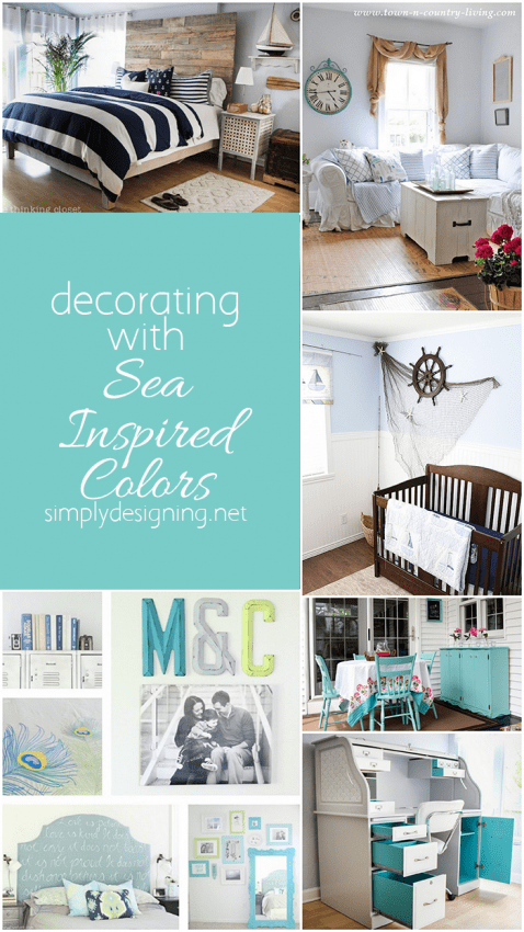 Decorating with Sea Inspired Colors