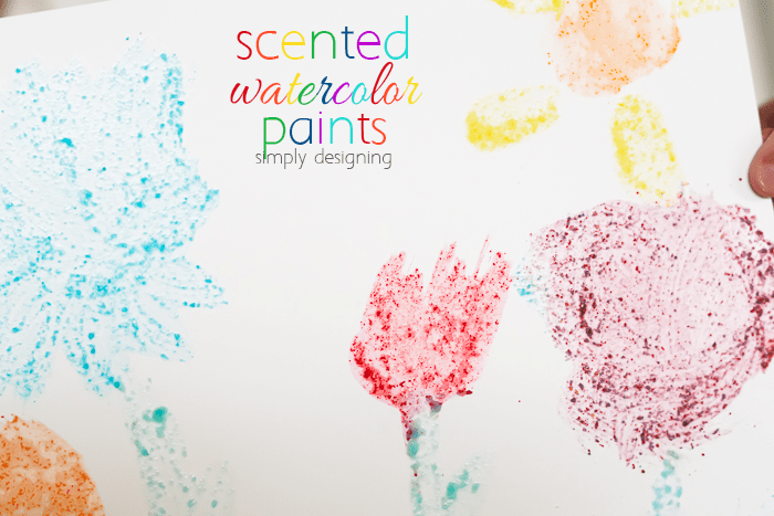 Edible Scented Watercolor Paints