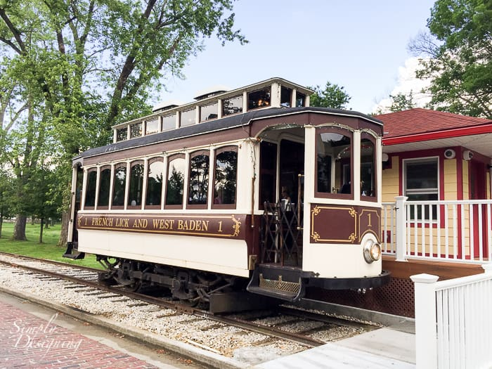 Trolley in French Lick