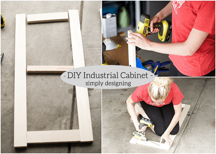 Industrial Cabinet - build door
