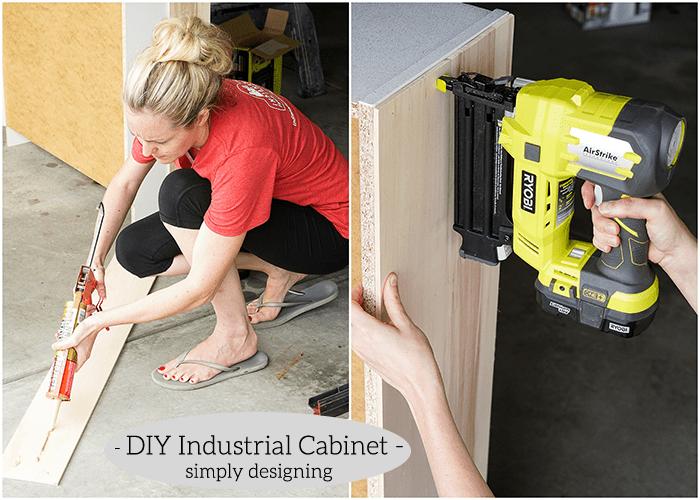 Industrial Cabinet - side