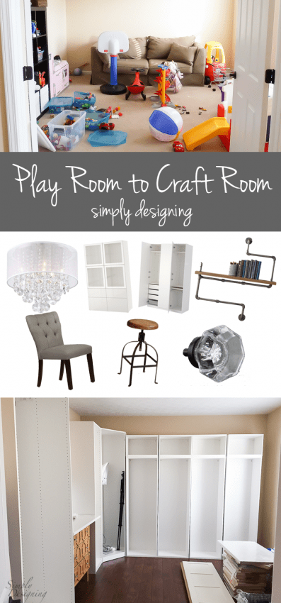 Play Room to Craft Room