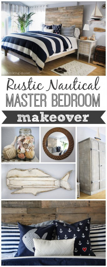 Rustic Nautical Bedroom