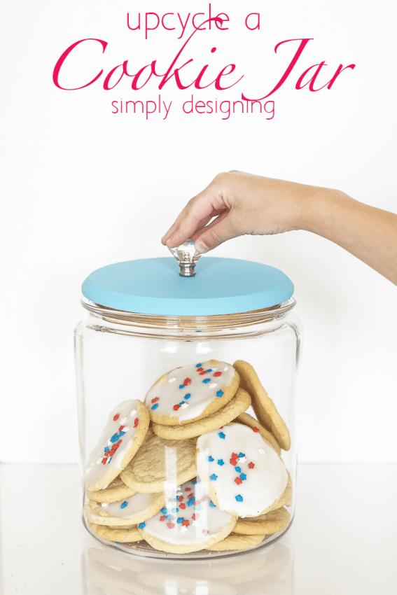 Upcycled Cookie Jar