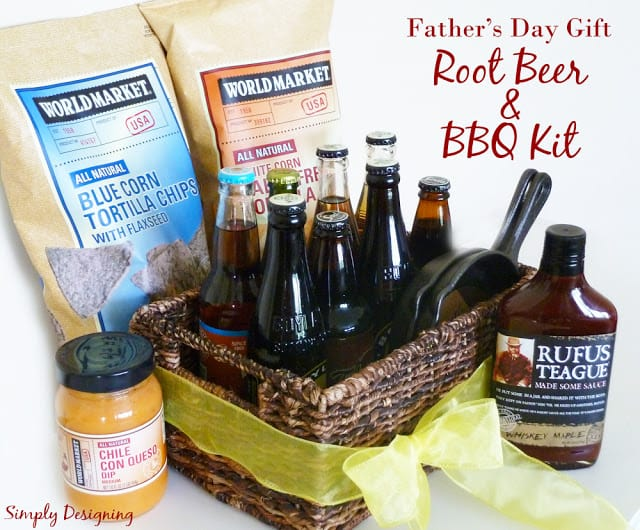 Father's Day gift basket idea
